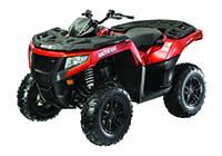 ATV Röd