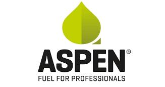 Logotyp för Aspen